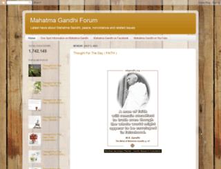 mkgandhi-sarvodaya.blogspot.in screenshot