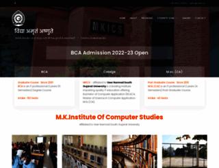 mkics.in screenshot