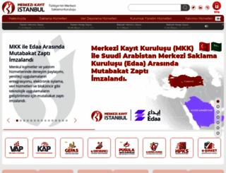mkk.com.tr screenshot