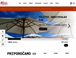 mklj.si screenshot