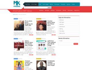 mknews.com.br screenshot