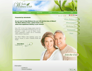 mkovalenko.wholewellnessclub.com screenshot