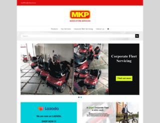 mkpstore.com screenshot