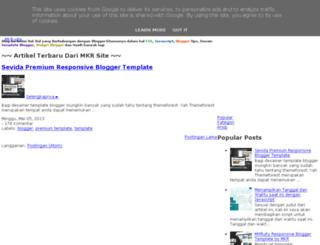 mkr-site.blogspot.ro screenshot