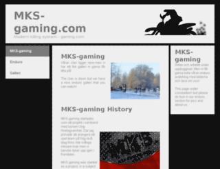 mks-gaming.com screenshot