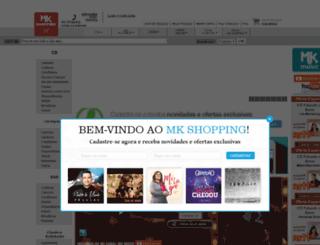 mkshopping.com.br screenshot