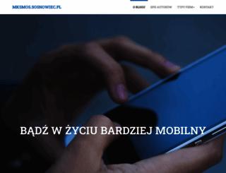 mksmos.sosnowiec.pl screenshot