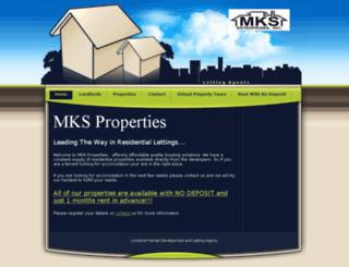 mksproperties.uk screenshot