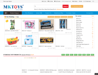 mktoys.com screenshot