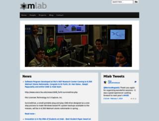mlab.fau.edu screenshot