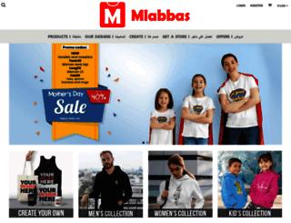 mlabbas.com screenshot