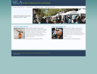mlaproductions.com screenshot