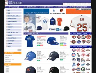 mlbhouse.co.kr screenshot