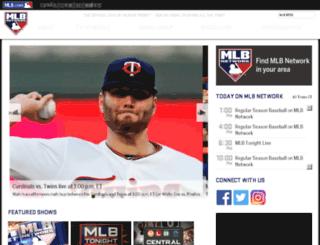 mlbnetwork.mlb.com screenshot