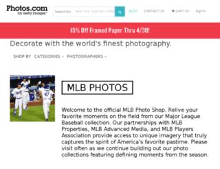 mlbphotos.com screenshot