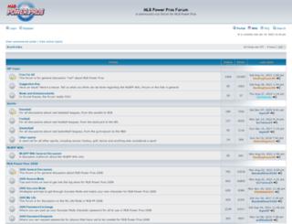 mlbppworld.com screenshot