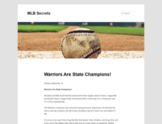 mlbsecrets.com screenshot