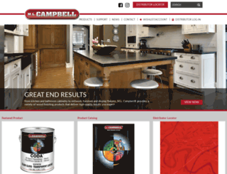 mlcampbell.com screenshot