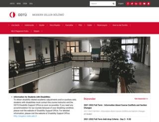 mld.metu.edu.tr screenshot