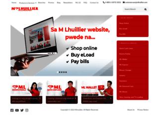 mlhuillier.com screenshot