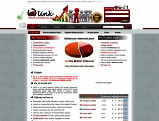mlink.cz screenshot