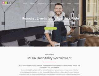 mlkarecruitment.com.au screenshot