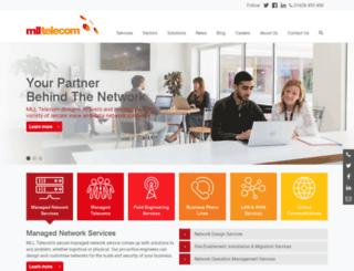 mlltelecom.com screenshot