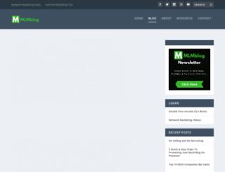 mlmblog.net screenshot
