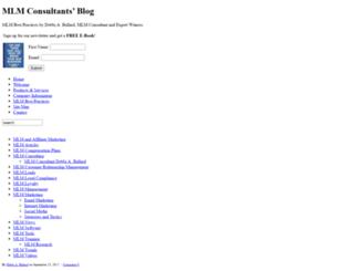 mlmconsultantsblog.com screenshot