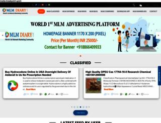 mlmdiary.com screenshot