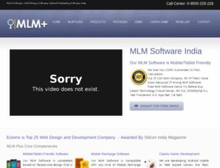 mlmplus.exioms.com screenshot