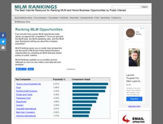mlmrankings.com screenshot
