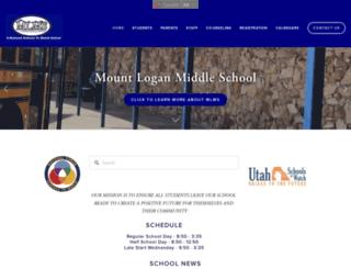 mlms.loganschools.org screenshot