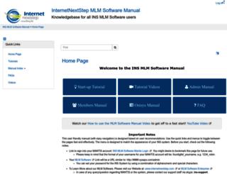mlmsoftwaremanual.com screenshot