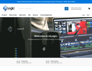 mlogic.com screenshot