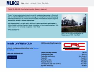 mlrc.ca screenshot