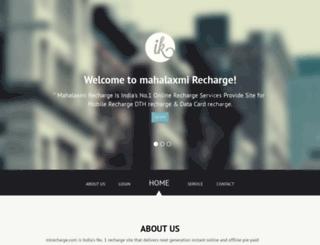 mlrecharge.com screenshot