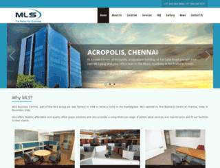mls-india.in screenshot