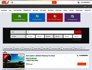 mls.com.eg screenshot