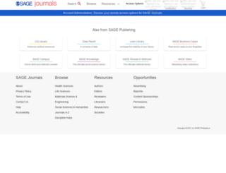 mls.sagepub.com screenshot