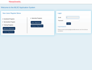 mlsc.smartsimple.com screenshot
