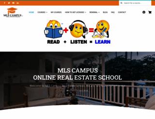 mlscampus.com screenshot