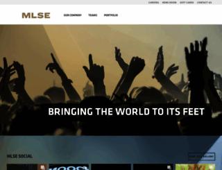 mlse.com screenshot