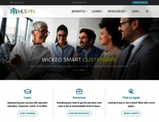 mlspin.com screenshot