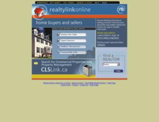 mlsr.realtylink.org screenshot