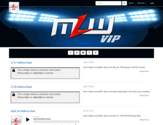 mlwradio.libsyn.com screenshot