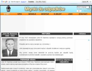 mlynkidoodpadkow.pl screenshot