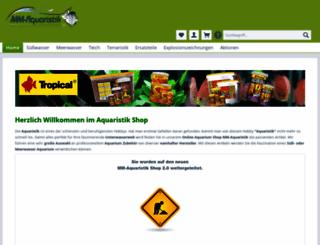 mm-aquaristik.de screenshot