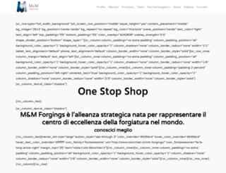 mm-forgings.com screenshot