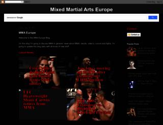 mma-europe.blogspot.be screenshot